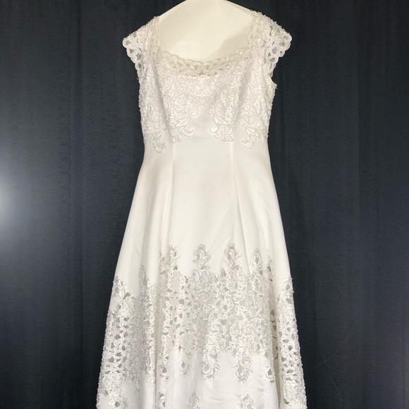 70 off oleg cassini dresses skirts oleg cassini wedding gown oleg cassini wedding gown worn once paid 1200 junglespirit Gallery